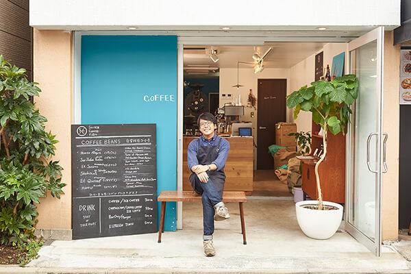 オフィス近くのコーヒーロースターでコーヒーの魅力を知り、たくさんのコーヒーを飲んだ→独自の味を追求する東京のロースターの豆を選べる「COFFEE GIFT」の開発につながった