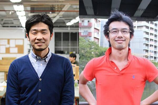 (写真左)株式会社Makers' 最高執行責任者・松田純平氏(写真右)ソウ・エクスペリエンス株式会社代表取締役・西村琢